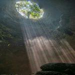 Jomblang vertical cave